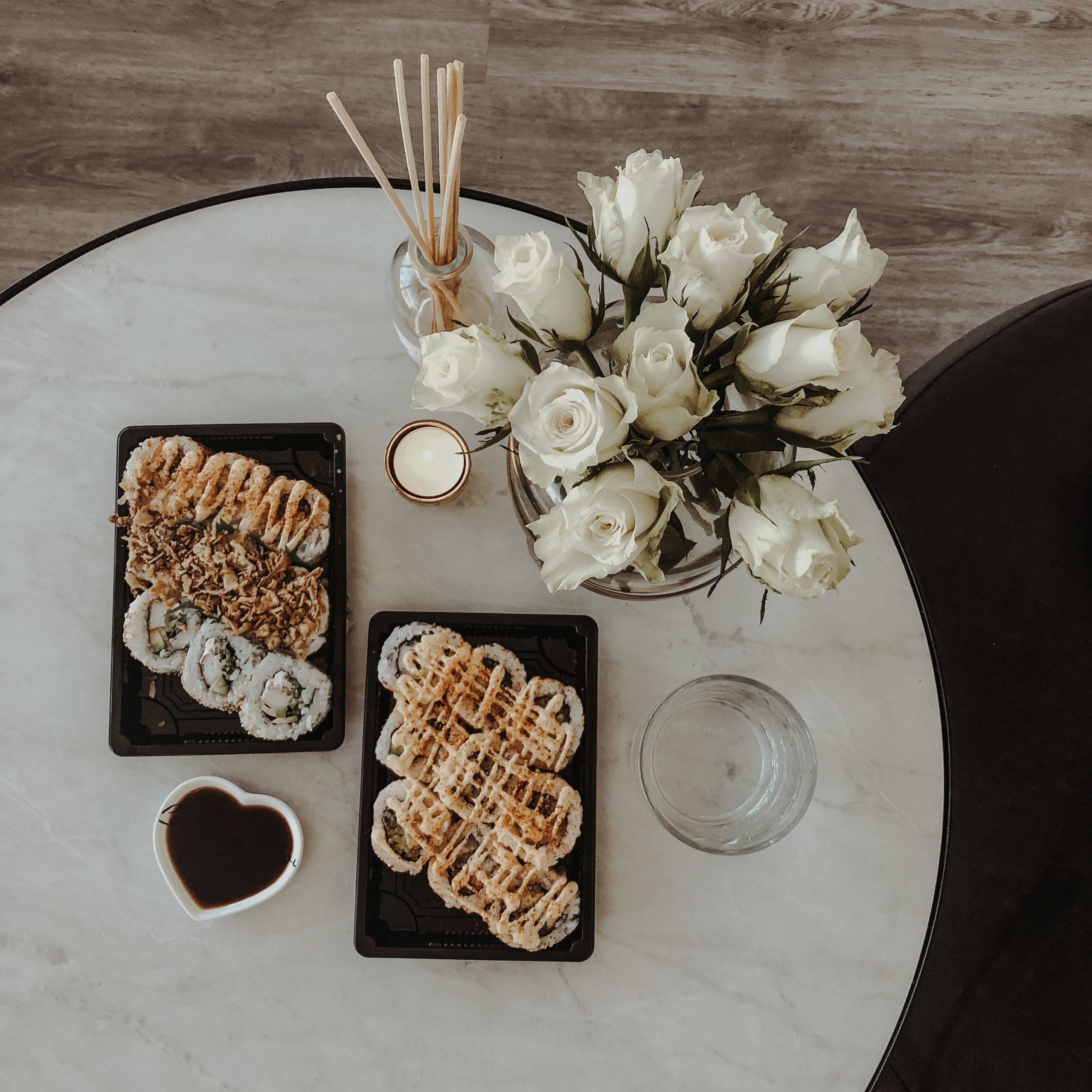 sushi-bloemen